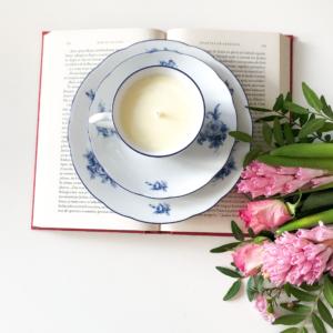 Lumânare parfumată în porțelan delicat Thun