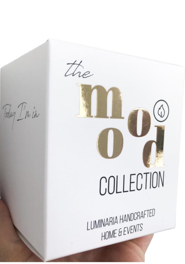 LOVE - Lumânare parfumată Colecția #intheMOOD Colecția #intheMOOD